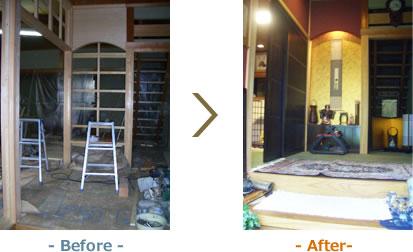 加東市T様邸- Before -- After-