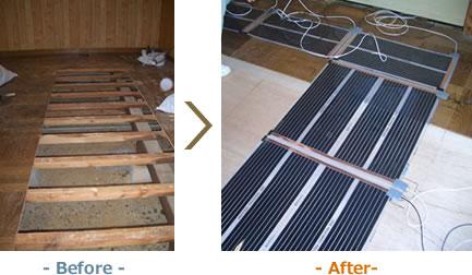 家具の修理- Before -- After-
